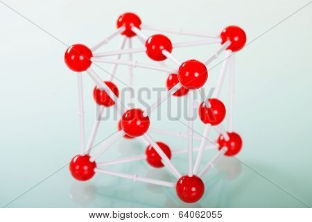 Model Of Copper Molecular Structure