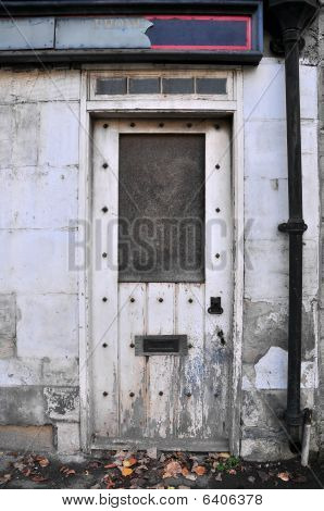 Doorway of a Derelict Building