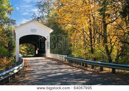 Pengra Covered Bridge