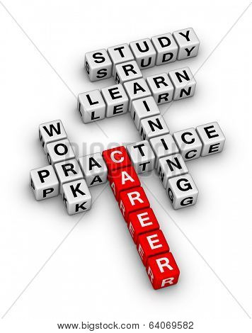career steps crossword puzzle