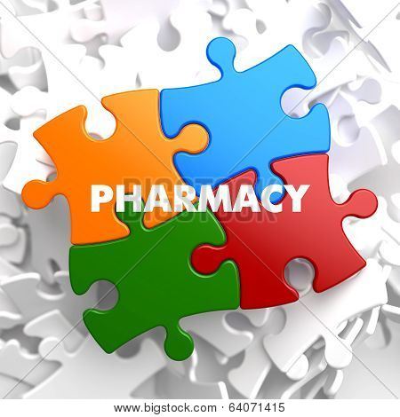 Pharmacy on Multicolor Puzzle.