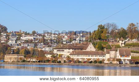 Rapperswil, Autumn Cityscape