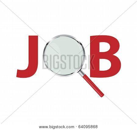Job Search Concept Vector Illustration