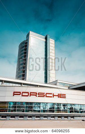 Porsche Service Center In Minsk, Belarus