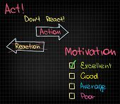 image of employee month  - Sets of different kinds of motivational charts - JPG