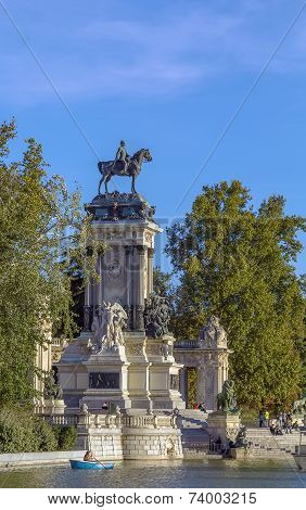 Monument To Alfonso Xii, Madrid