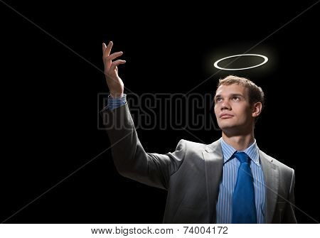 Saint businessman