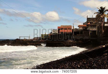 Town Over Ocean
