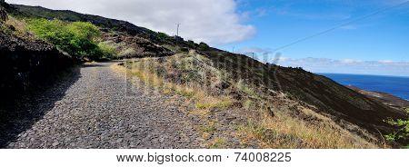 Cobblestone Road Via Mountain