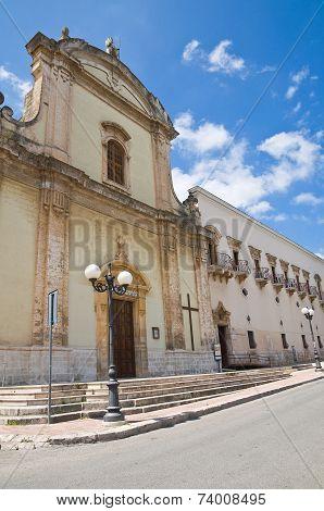 Church of St. Francesco. Fasano. Puglia. Southern Italy.