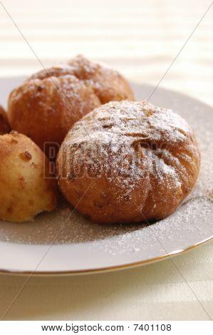 Doughnuts with jam