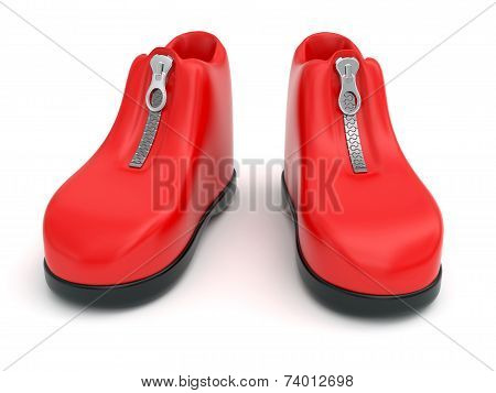 Plasticine Shoes