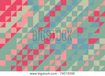 Vector Triangle Abstract Mosaic Pattern Texture