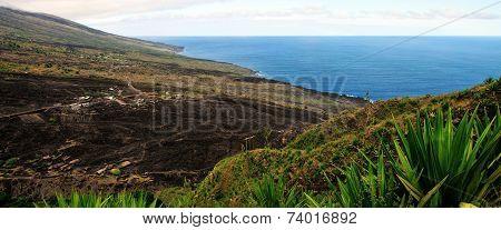 The Island Of Fogo Coastline