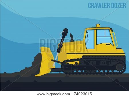 Mining Machinery_Crawler Dozer