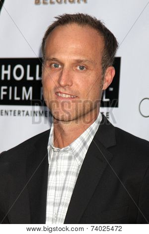 LOS ANGELES - OCT 16:  Jon Fitzgerald at the 18th Annual Hollywood Film Festival Opening Night at ArcLight Hollywood Theaters on October 16, 2014 in Los Angeles, CA