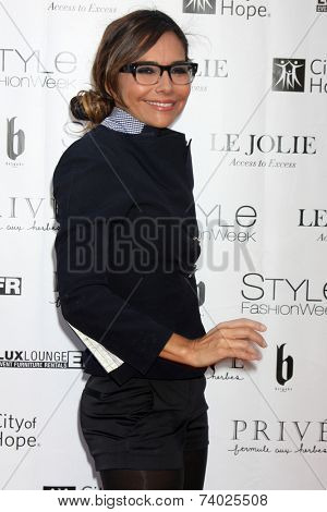 LOS ANGELES - OCT 15:  Vanessa Marcil at the Sue Wong