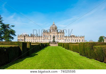 Castle Howard, North Yorkshire, Uk