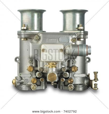 Italian carburetor, isolated