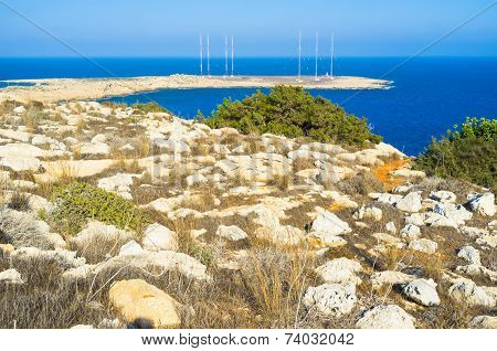 Walking On Cape Greco