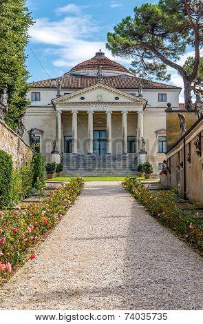 View At The Villa Capra
