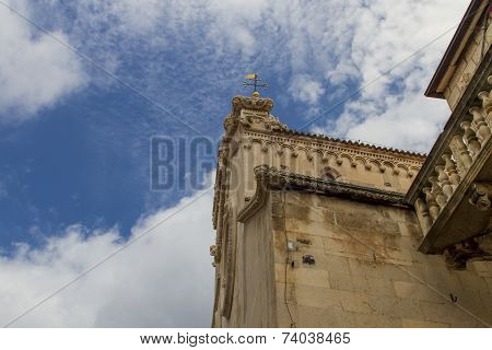 Cathedral Of St Mark At Korcula Island, Croatia