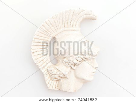 Head of Achilles sculpture
