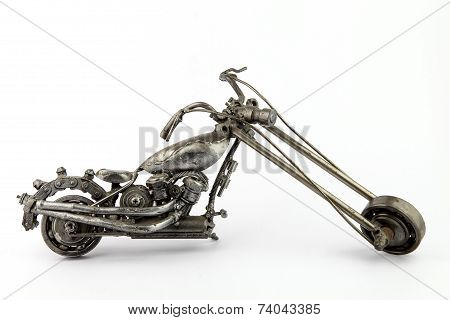 County Choppers Jet Bike Diecast Motorcycle