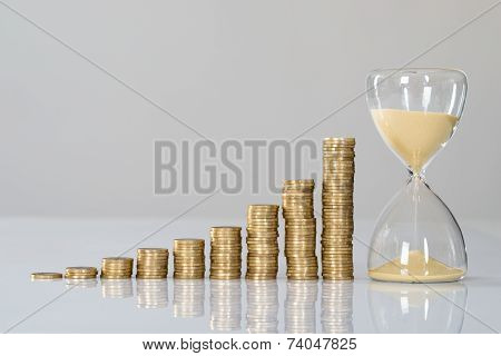 Growth Chart And Hourglass