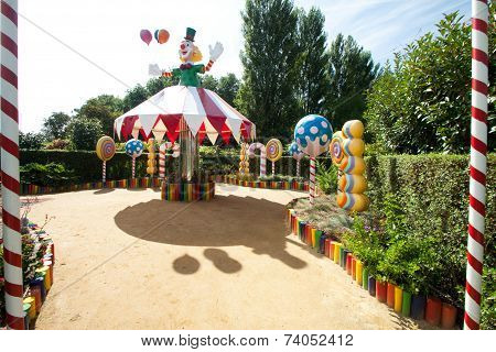 The Joy Of The Circus Celebrated In The Garden