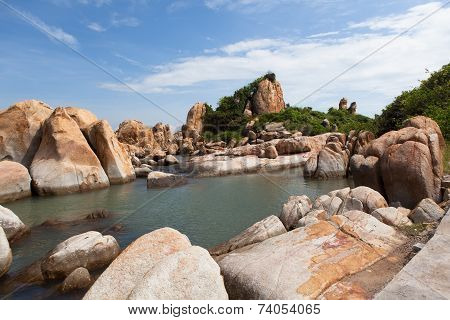 Ke Ga Beach At Mui Ne, Phan Thiet, Vietnam.