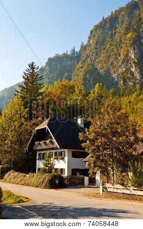 Austrian House In alpine village