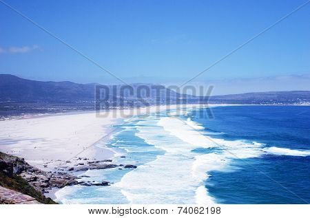 Wonderful Seascape With Noordhoek Beach, South Africa