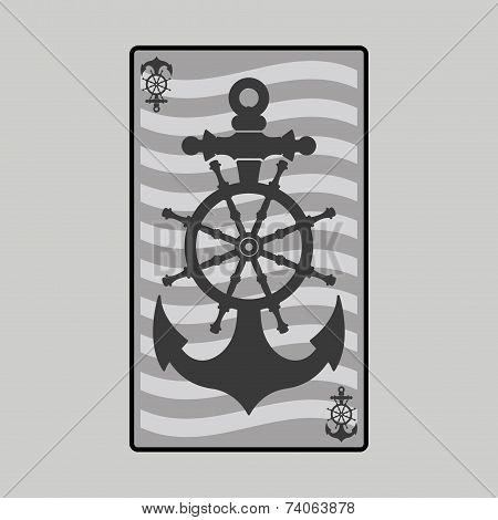 helm, anchor