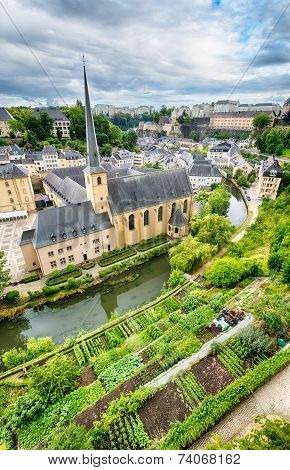 Luxembourg City Landscape And Architecture