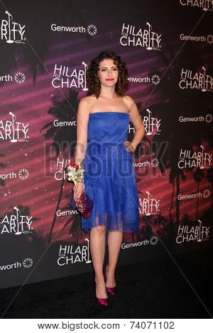 LOS ANGELES - OCT 17:  Lauren Miller Rogen at the Hilarity for Charity Benefit for Alzheimer's Association at Hollywood Paladium on October 17, 2014 in Los Angeles, CA
