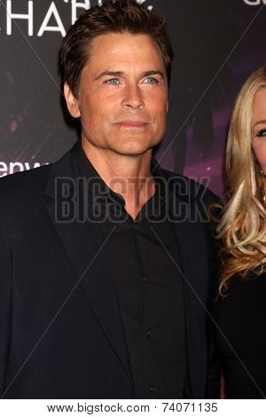LOS ANGELES - OCT 17:  Rob Lowe at the Hilarity for Charity Benefit for Alzheimer's Association at Hollywood Paladium on October 17, 2014 in Los Angeles, CA