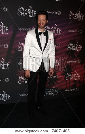 LOS ANGELES - OCT 17:  Mayer Hawthorne at the Hilarity for Charity Benefit for Alzheimer's Association at Hollywood Paladium on October 17, 2014 in Los Angeles, CA