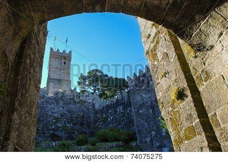 Monterreal Castle, Baiona. Spain