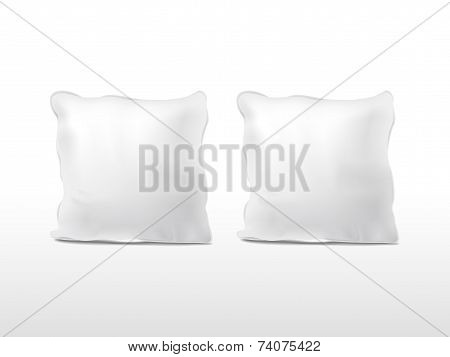 Blank Pillows Set