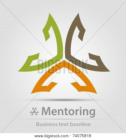Mentoring Business Icon