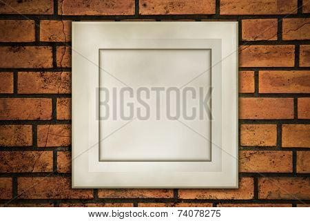 Old Frame On Fracture Brick