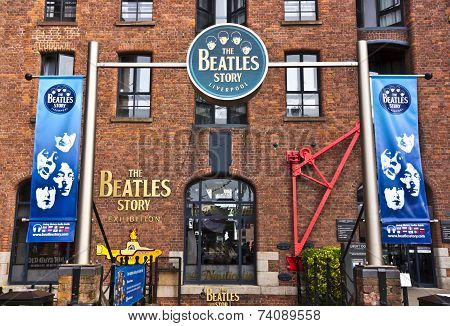 Beatles museum in Liverpool.