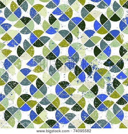 seamless pattern, abstract geometric tiling background
