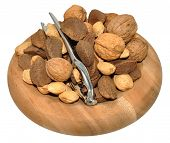 image of brazil nut  - Mixed nuts including Brazil nuts - JPG