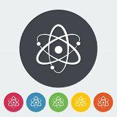stock photo of neutrons  - Atom - JPG