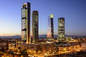 stock photo of cbd  - Madrid - JPG