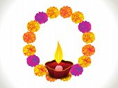 pic of dharma  - abstract artistic colorful diwali background vector illustration - JPG