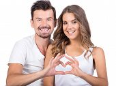 stock photo of love making  - Valentine couple - JPG