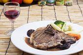 picture of t-bone steak  - grilled t - JPG